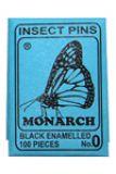 2001 Insektennadeln schwarzer Stahl